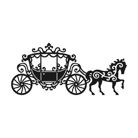 Cinderella horse and carriage clipart 3 » Clipart Portal.