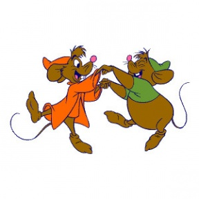 Cinderella Mice Clipart.