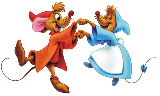 Mice With Key In Cinderella Clipart.