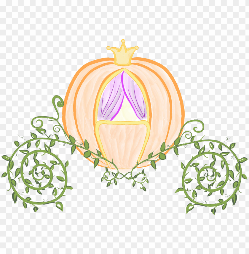 cinderella prince charming pumpkin carriage clip art.
