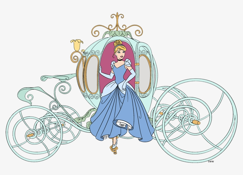 Cinderella Clip Art 4.