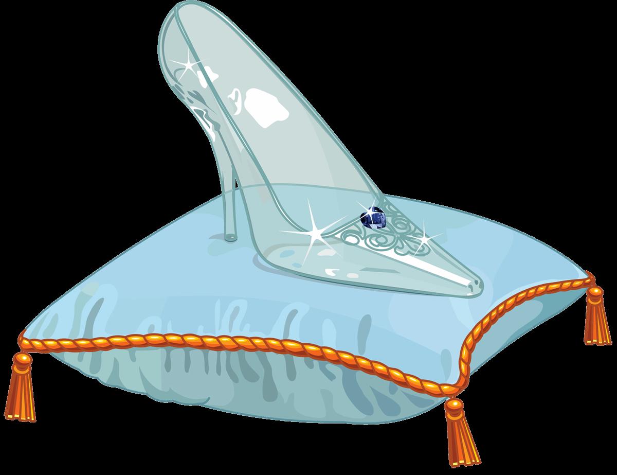 Cinderella Shoe Cliparts.