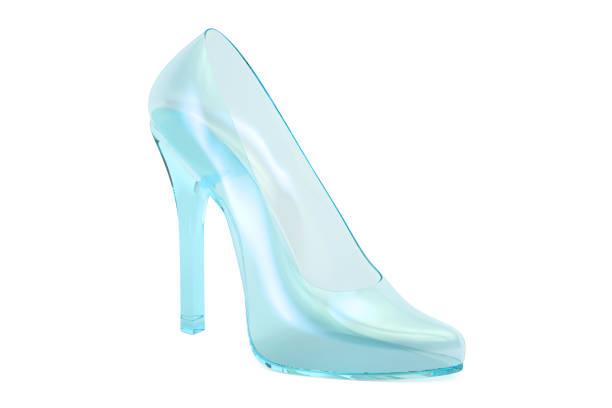 Best Cinderella Shoe Illustrations, Royalty.