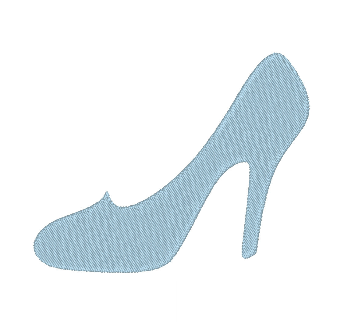 Cinderella Glass Slipper Clipart.