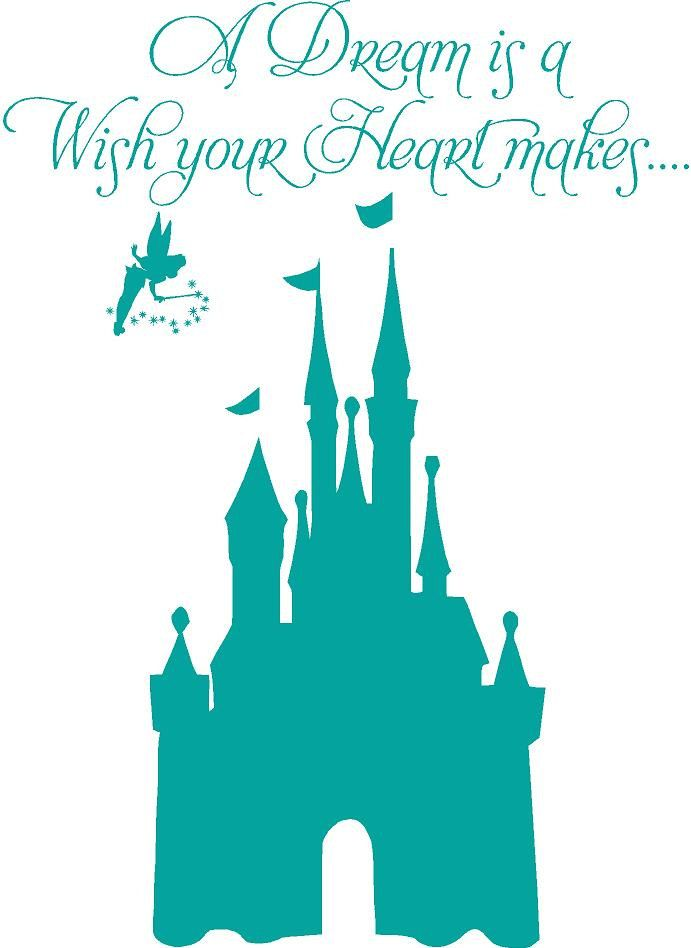 walt disney world castle clipart silhouette #18