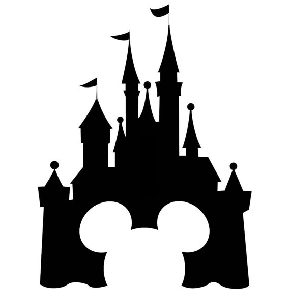 Disney castle cinderella castle clipart.