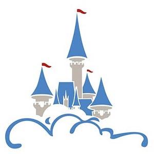 Cinderella Castle Clipart.