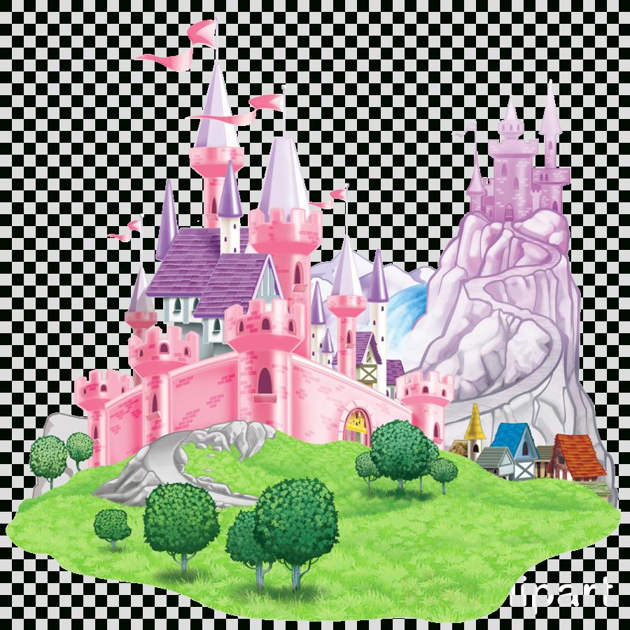 Collection of 14 free Cinderella castle png aztec clipart vintage.