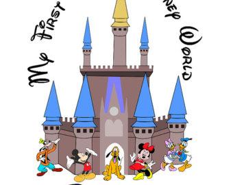 Cinderella Castle Clip Art.