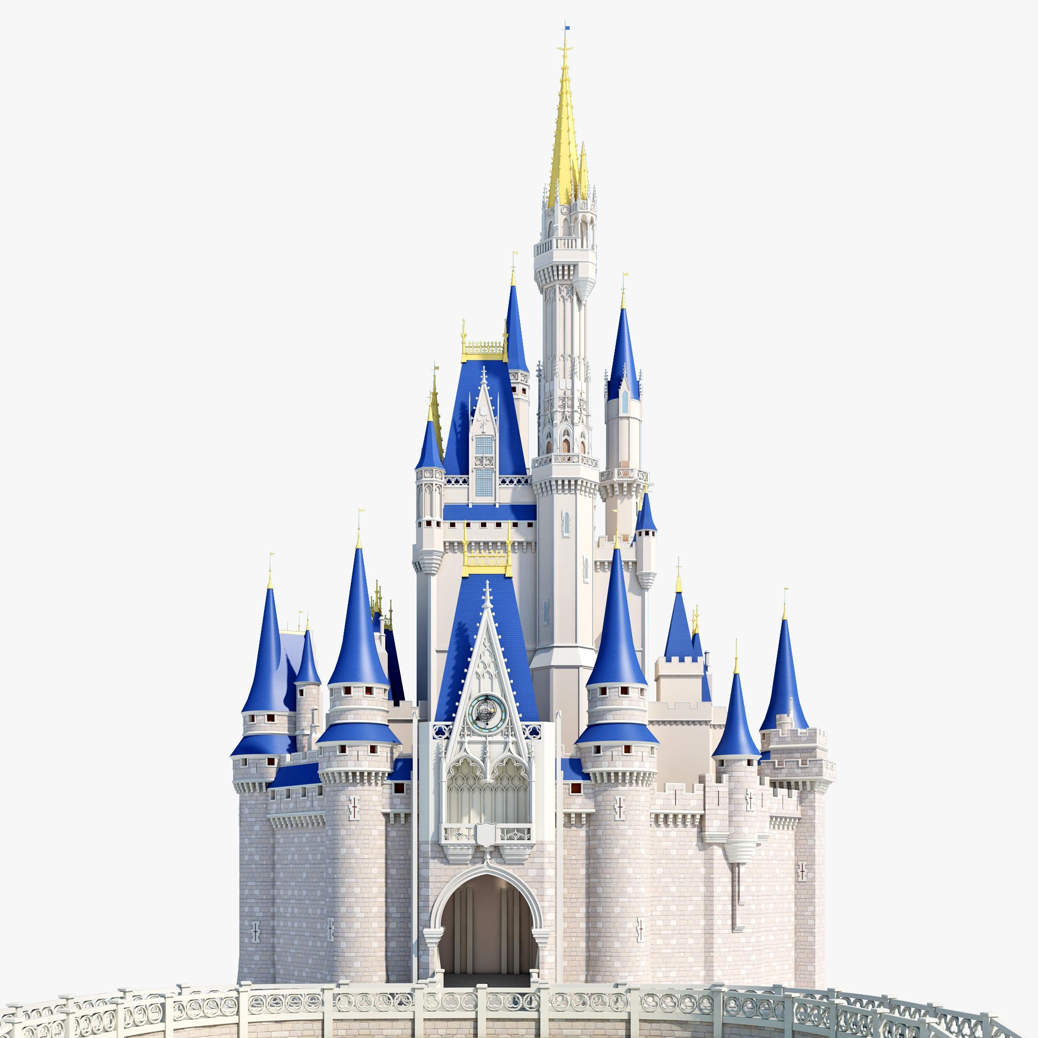 Disney Cinderella Castle Clipart.