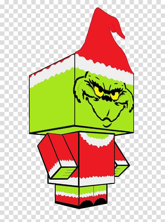 How the Grinch Stole Christmas! Whoville Cindy Lou Who , paper craft.