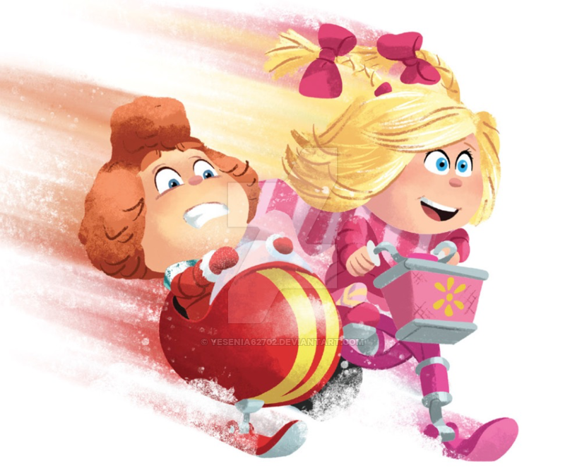 Cindy Lou and her best friend by Yesenia62702 on DeviantArt.