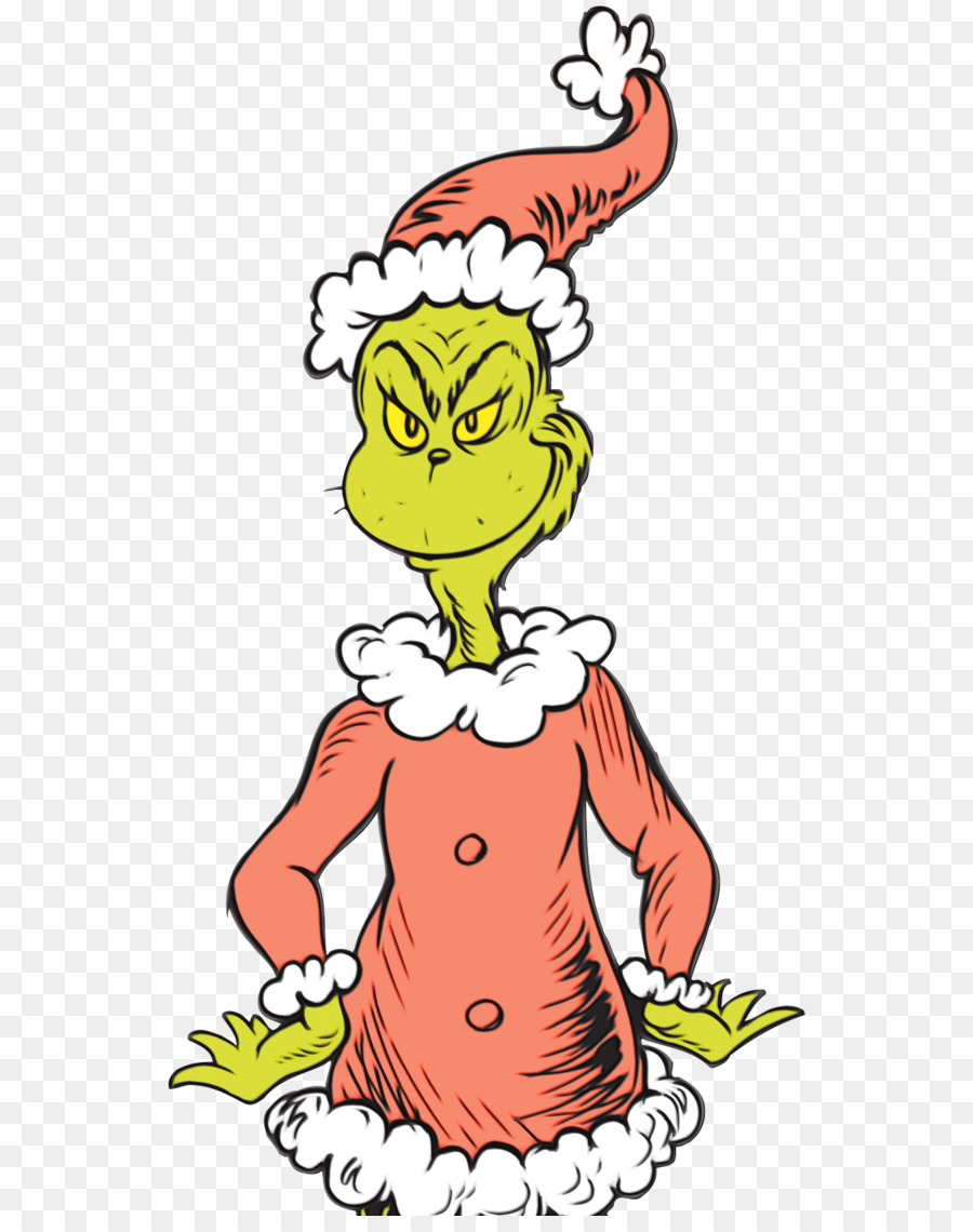 The Grinch Cartoon png download.