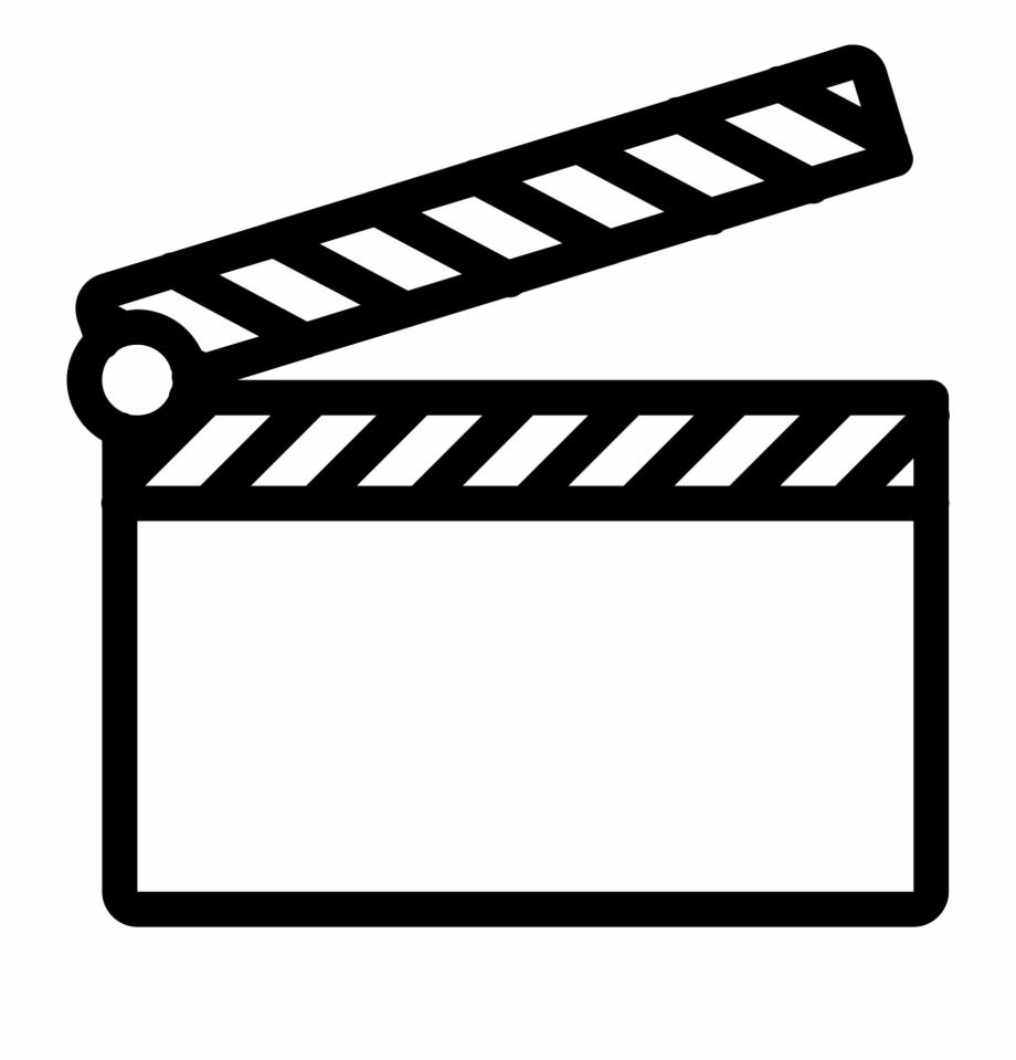 Claqueta De Cine Icon.