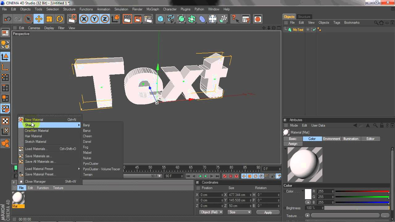 How to import PNG Image from Cinema 4D to Photoshop.