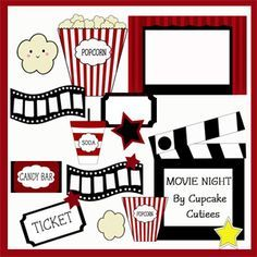 Kids Movie Night Clipart Flyer <b>ideas</b> on pinterest.