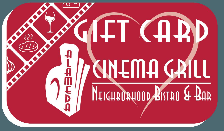 Alameda Cinema Grill.