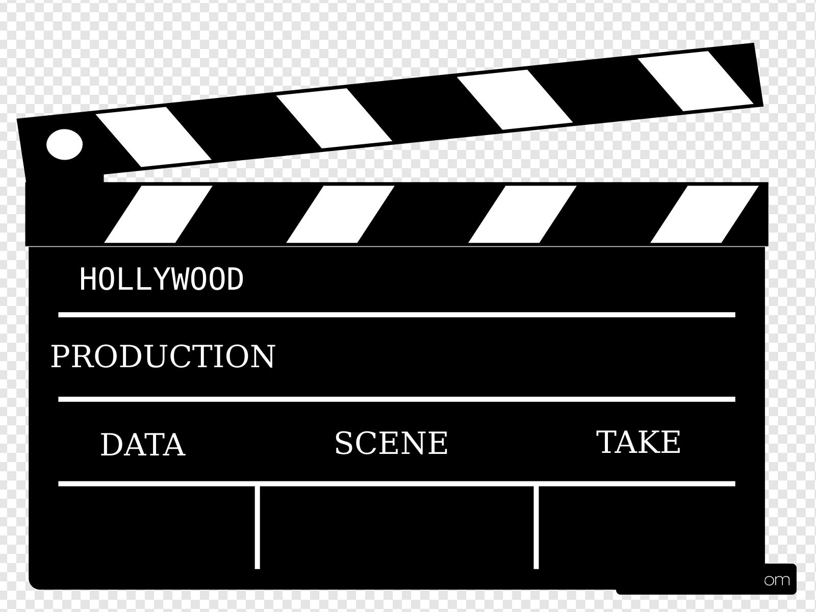 Cinema Action Prop Clip art, Icon and SVG.