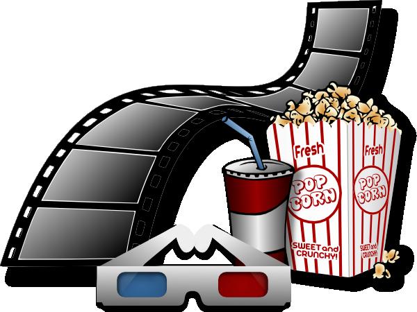 Cinema Items Clip Art at Clker.com.
