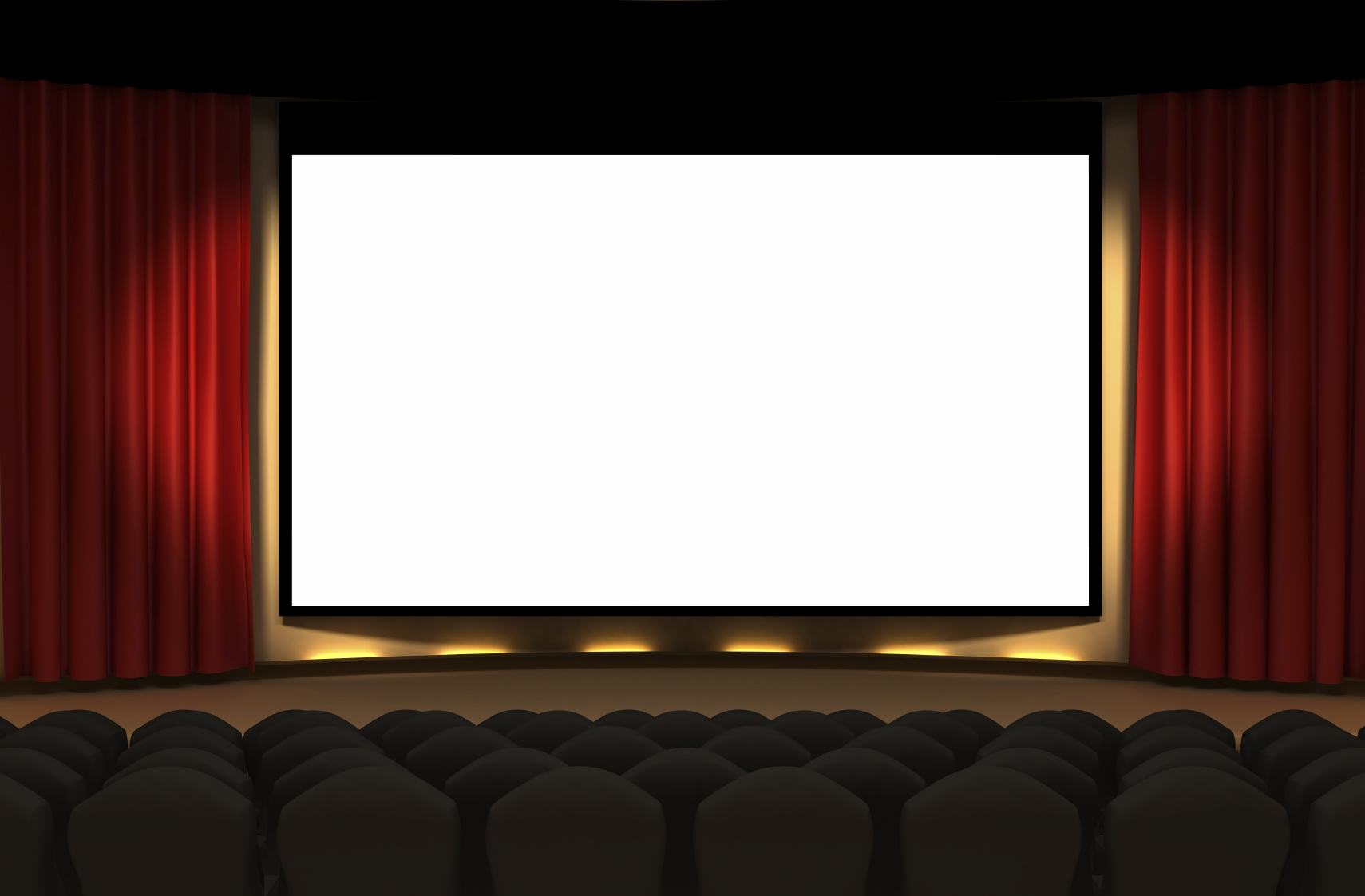 Cinema screen clipart.