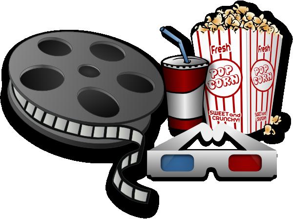 Cinema clip art free clipart 2.
