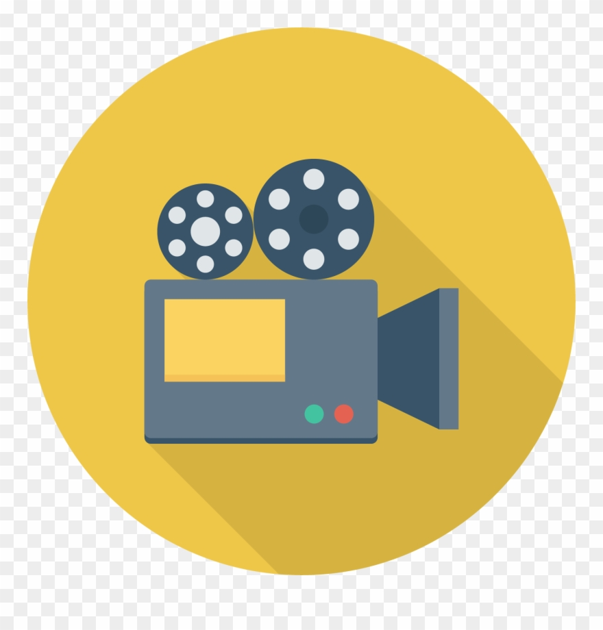 Film Clipart News Camera.