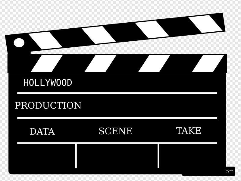 Cinema Action Prop Clip art, Icon and SVG.