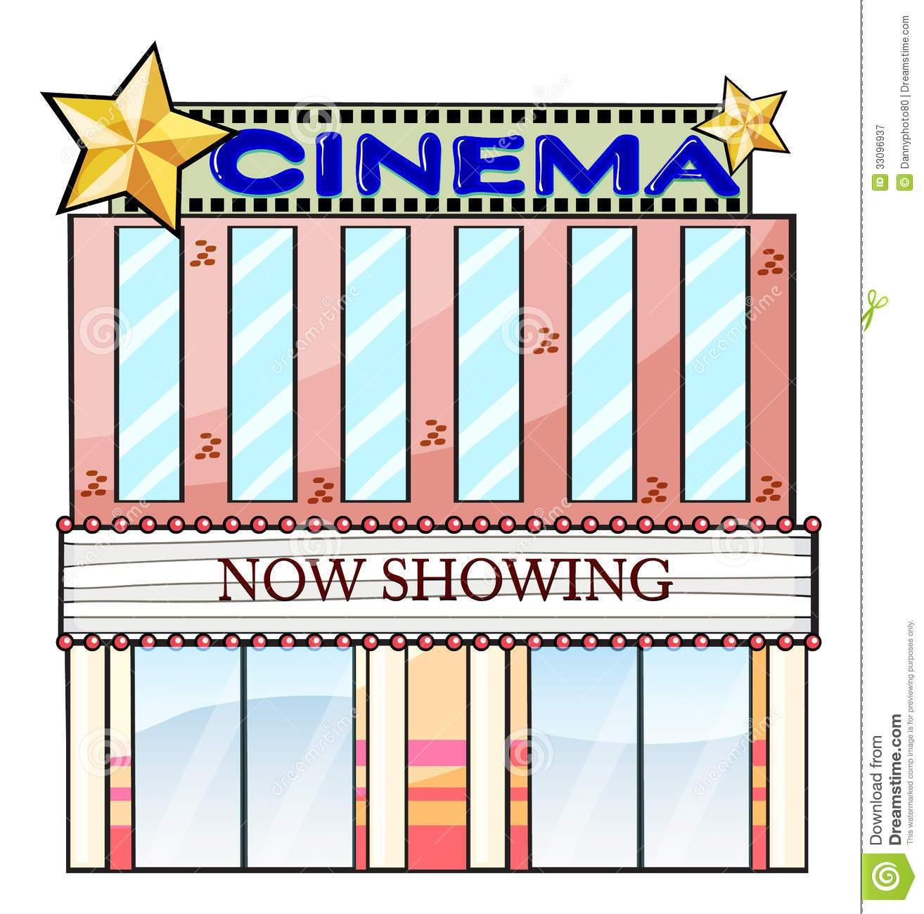 Cinema building clipart 1 » Clipart Portal.