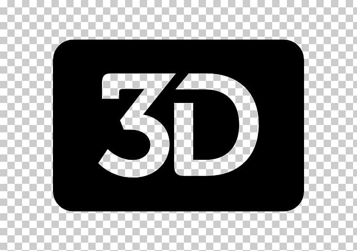 3D film Cinema Logo, symbol PNG clipart.