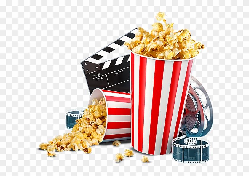 Popcorn Cinema , Png Download.