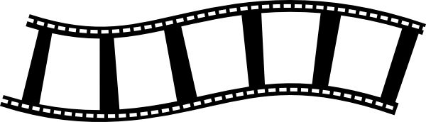 Cinema reel clipart.