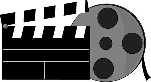 Clipart cinema film.
