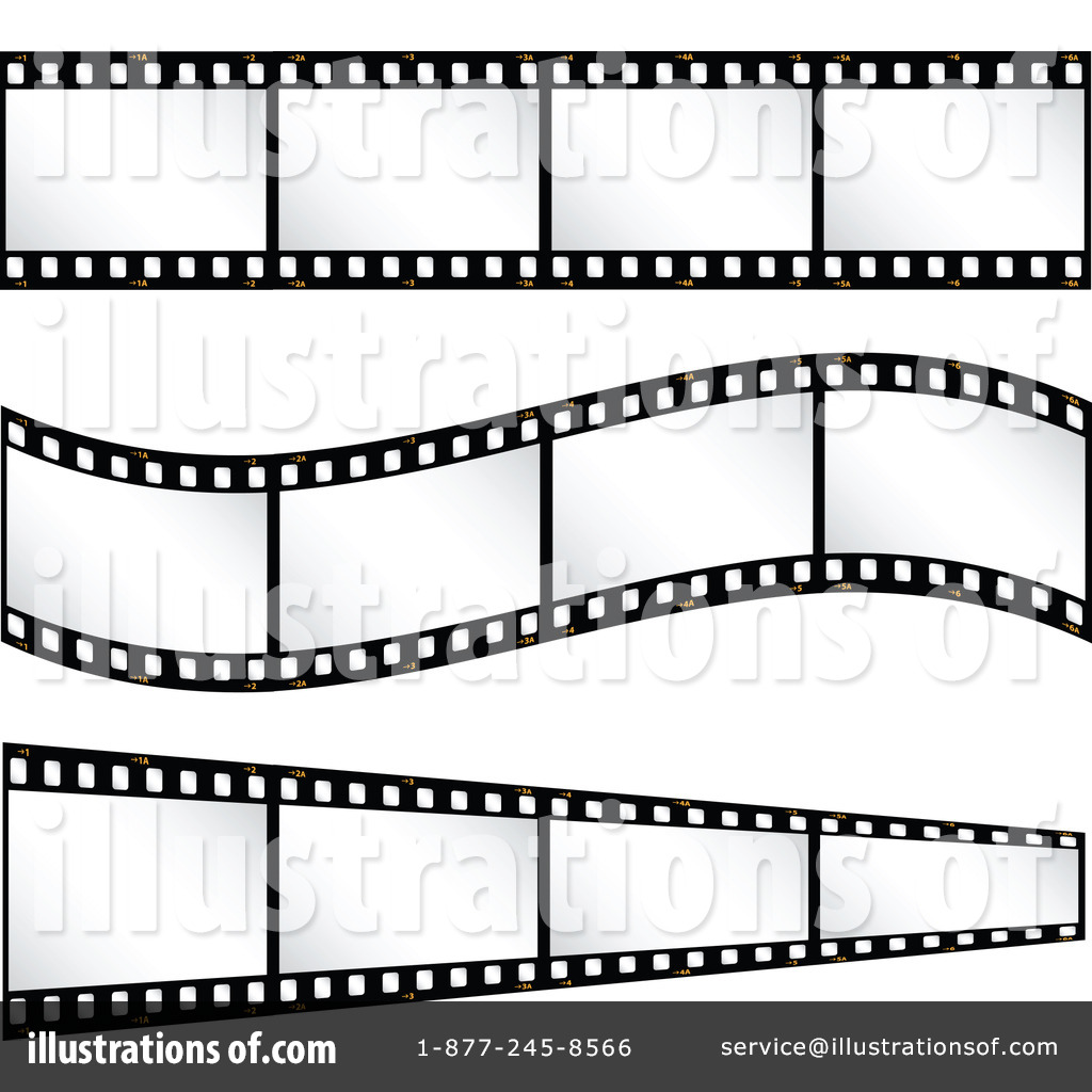 Film Strip Clipart #30090.