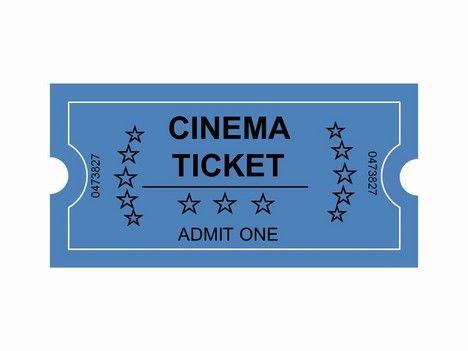 Movie Ticket Clip Art.