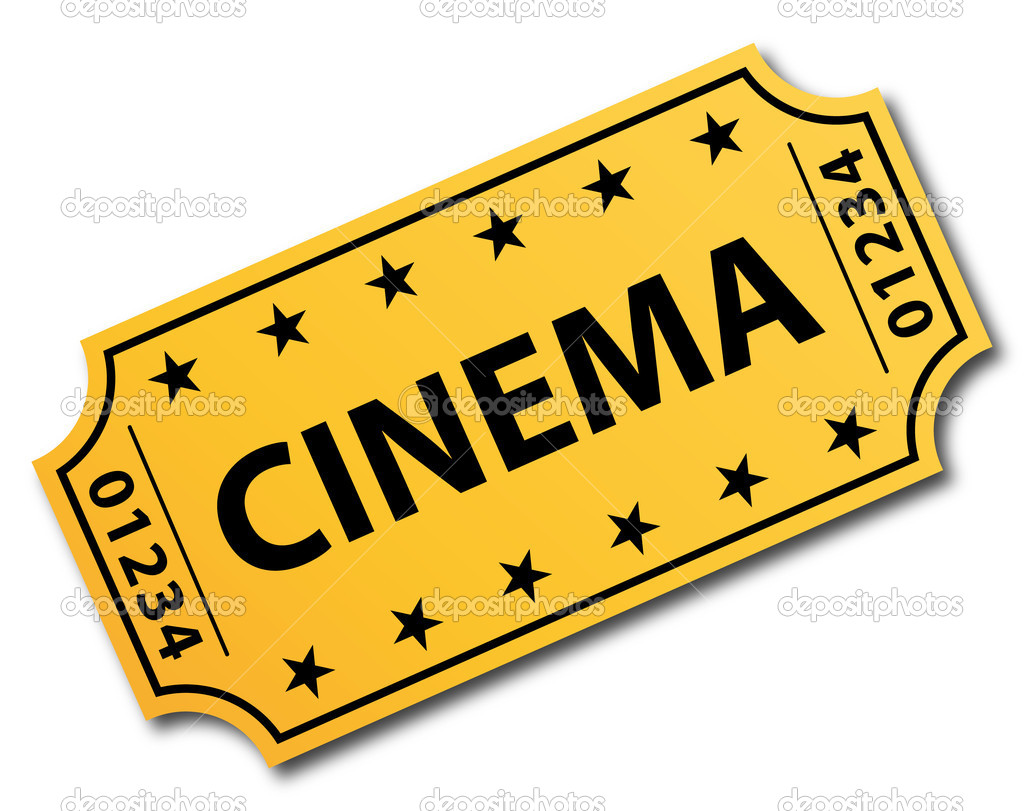 One single cinema ticket..