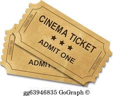 Cinema Ticket Clip Art.
