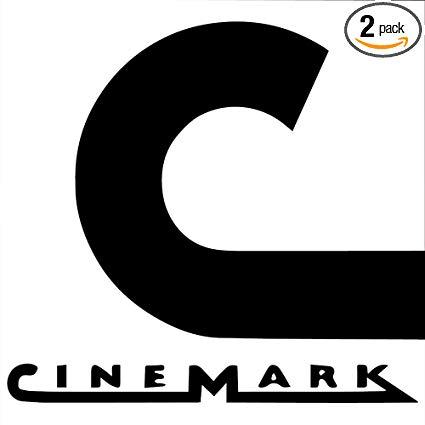 Amazon.com: NBFU DECALS Logo CINEMARK (White) (Set of 2.
