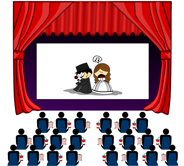 movie theater clipart clipground