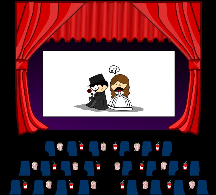 Cinemas Clip Art.