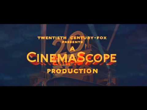 20th Century Fox CinemaScope Logo 1955.