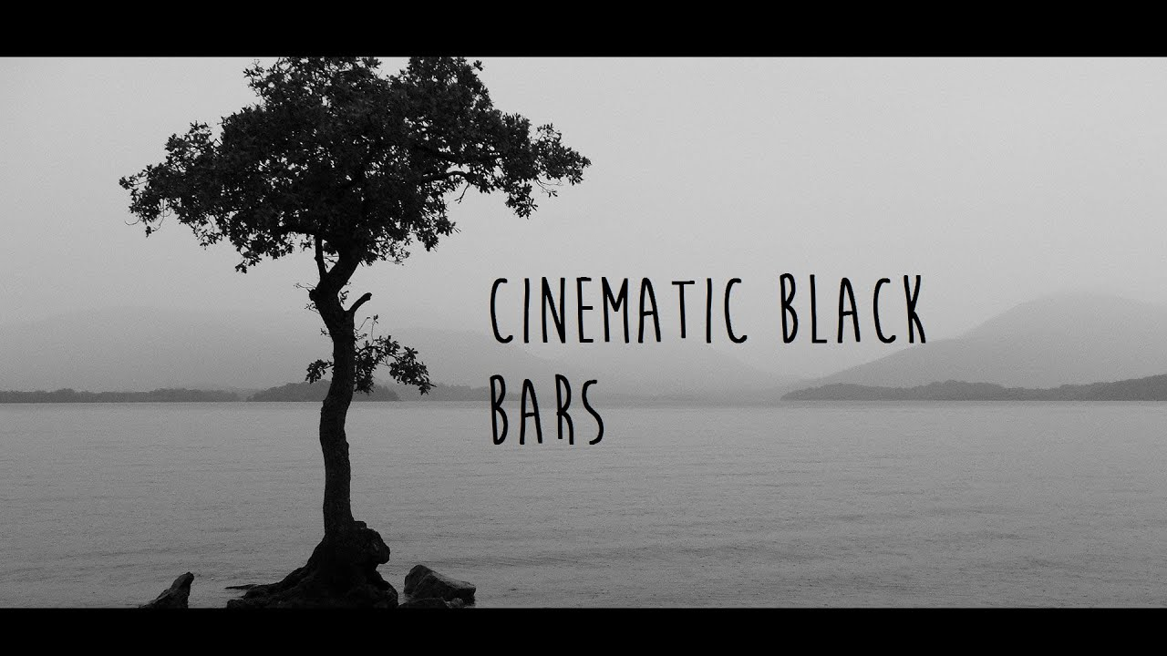 How to add Cinematic Black Bars to Sony Vegas(11,12,13).
