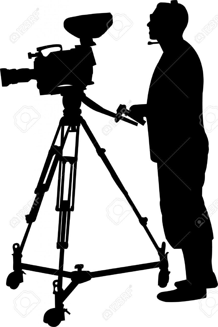 Cameraman Silhouette.