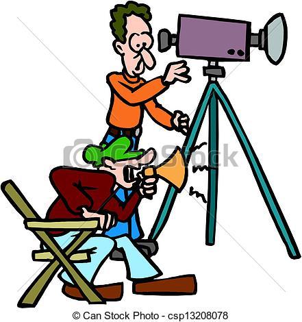 Cinematographer Clipart.