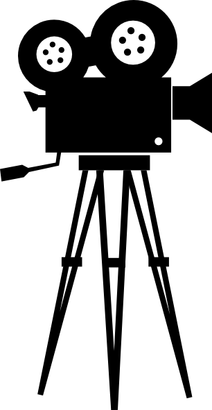 Old Movie Camera Clipart.