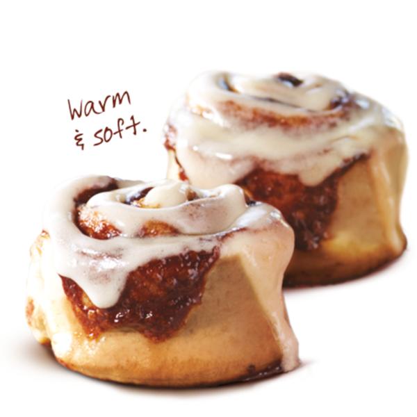 Cinnabon® Minibon® Roll.