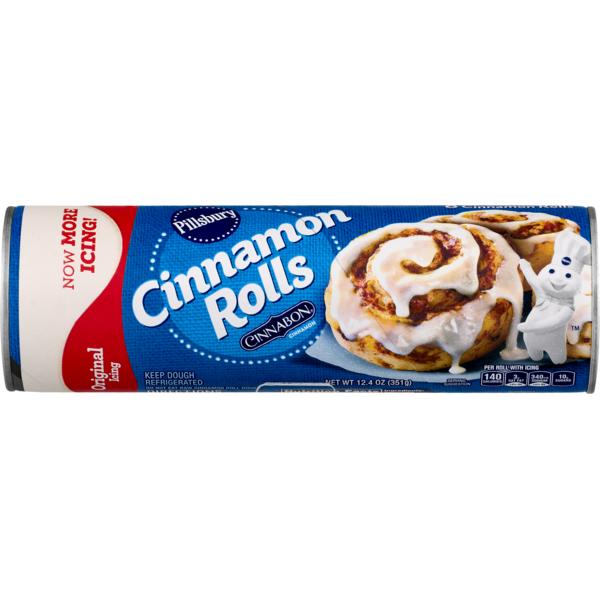 Pillsbury Cinnamos Cinnabon from Publix.