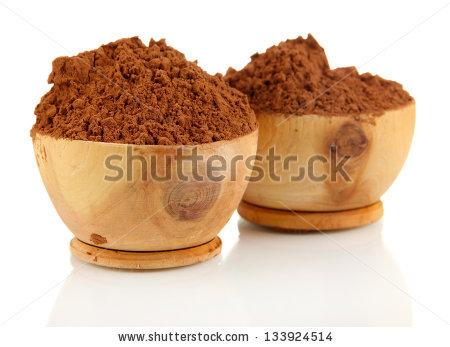 Cocoa Powder Stock Photos, Royalty.