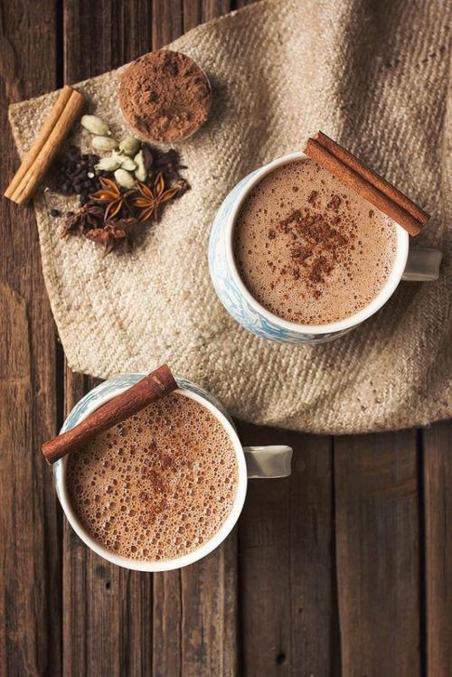 hot chocolate cinnamon.