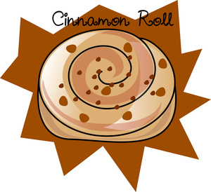 Cinnamon Roll Cliparts.