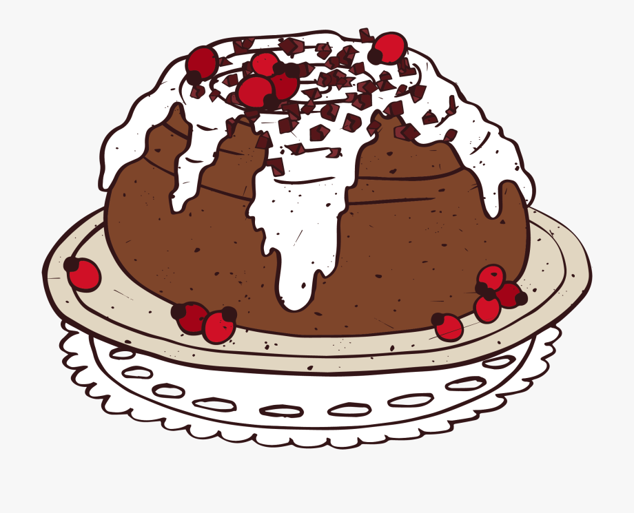 Chocolate Cake Clipart Delicious Cake.